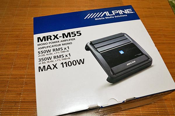 フォレスター:ALPINE MRX-M55 モノラルアンプ導入