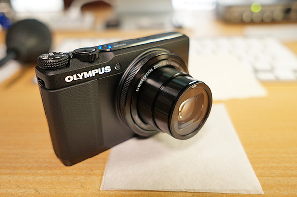 コンデジ用レンズ保護フィルター