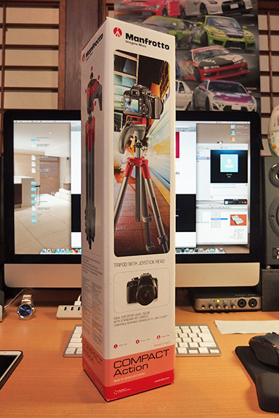 Manfrotto Compact Action 三脚