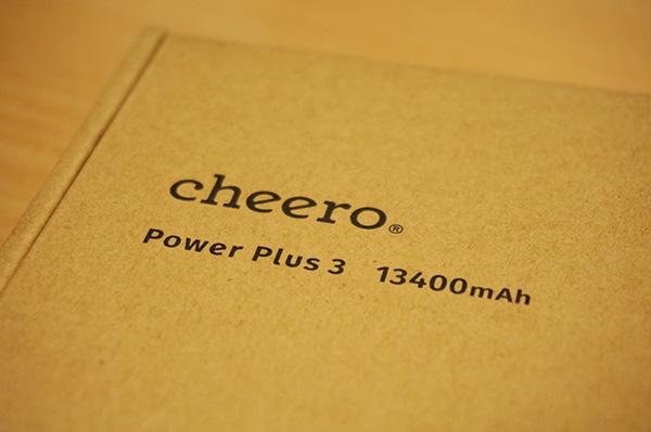 モバイルバッテリー cheero Power Plus 3 購入