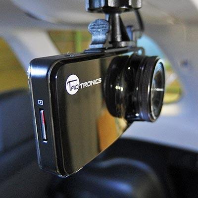 フォレスター:リア用ドラレコ TT-CD05 取付
