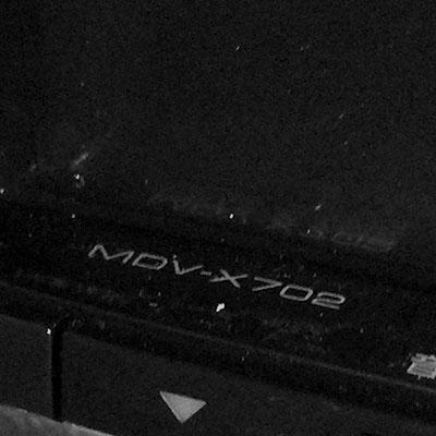 R2:MDV-X702 カーナビ取付