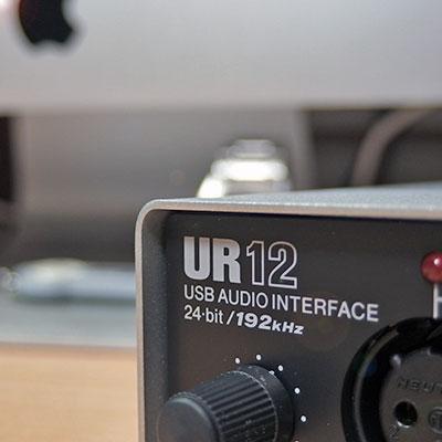 steinberg UR12 オーディオインターフェイス購入