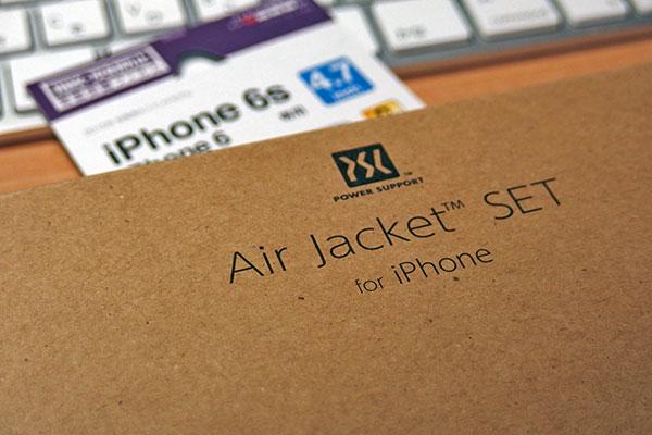 パワーサポート Air Jacket set for iPhone6 クリアマット購入