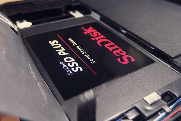 Lenovo B50 をSSDに換装してみる
