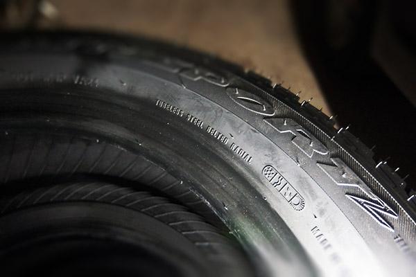 ロードスター:遊び用タイヤ購入