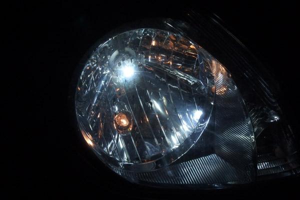 ステラ:NIGHTEYE LEDヘッドライトバルブ導入