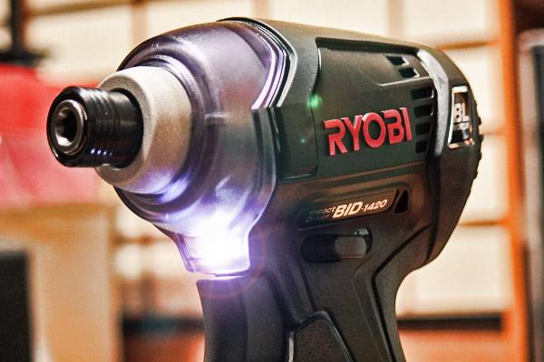 RYOBI BID-1420L1 充電式インパクトドライバ導入
