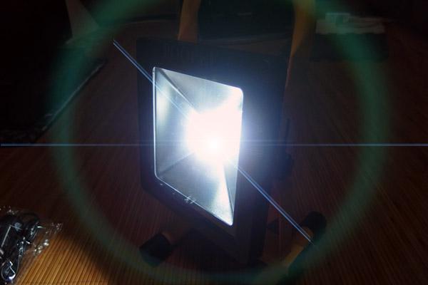 充電式LED投光器 購入