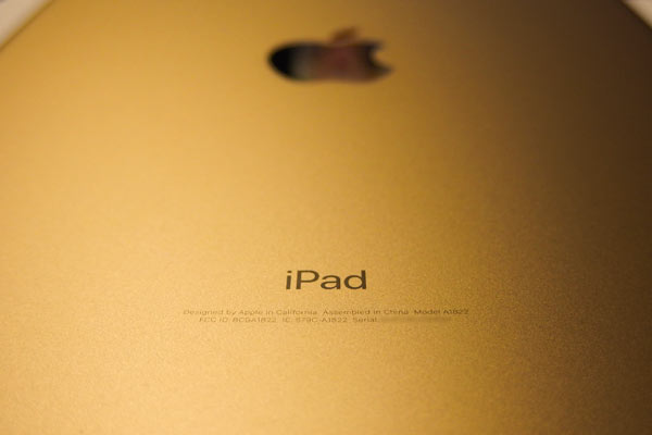 iPad(第5世代)購入
