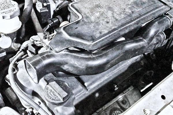 ワゴンR:エンジンルームからの異音対策