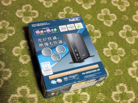 NEC AtermWR8700N 購入