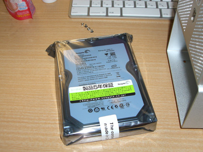 iMac Late2006 HDD換装